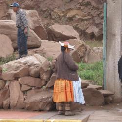 Chapeau féminin de la région de Capachica