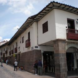 Réutilisation de murs incas