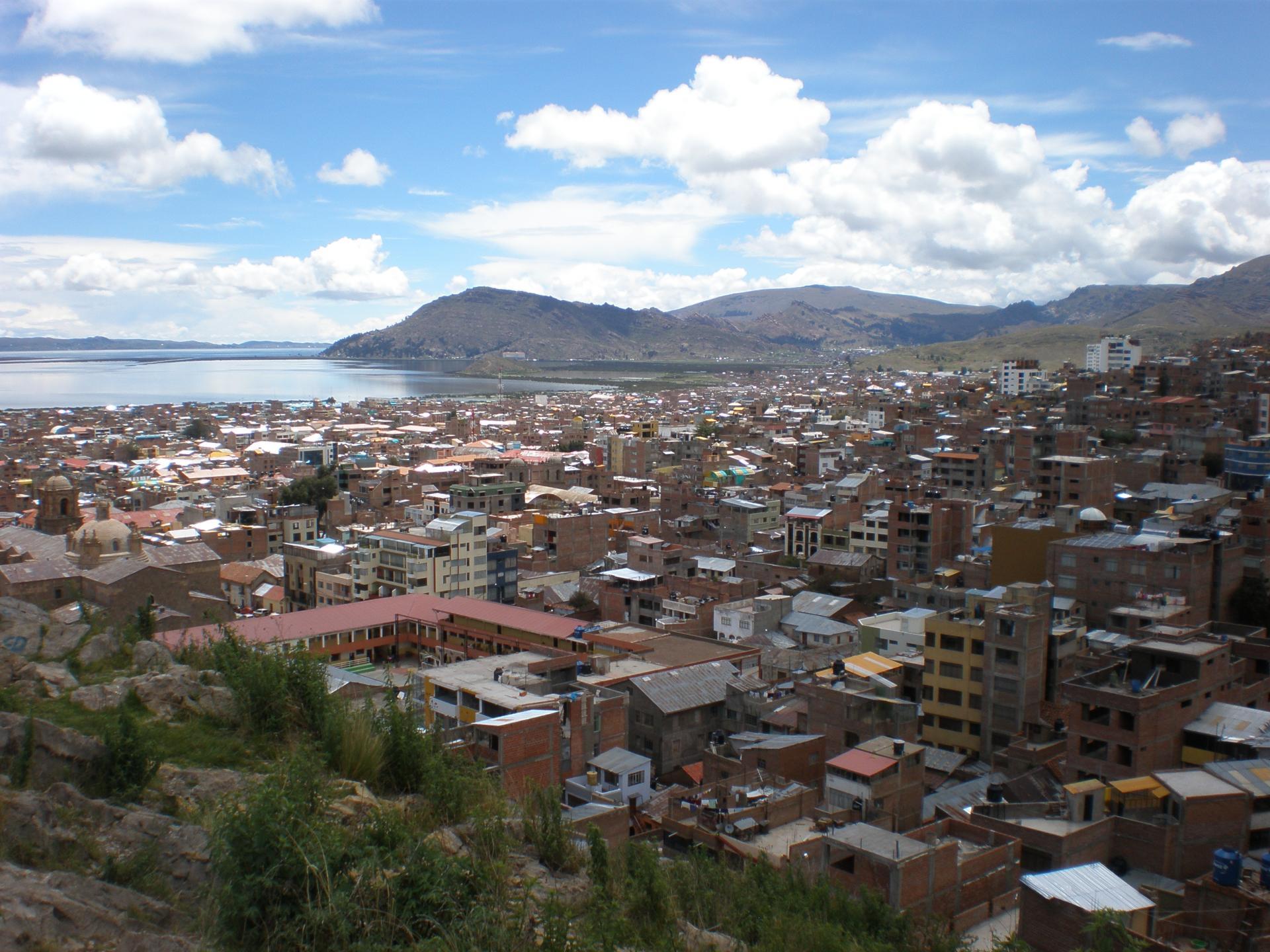 Puno et lac Titicaca