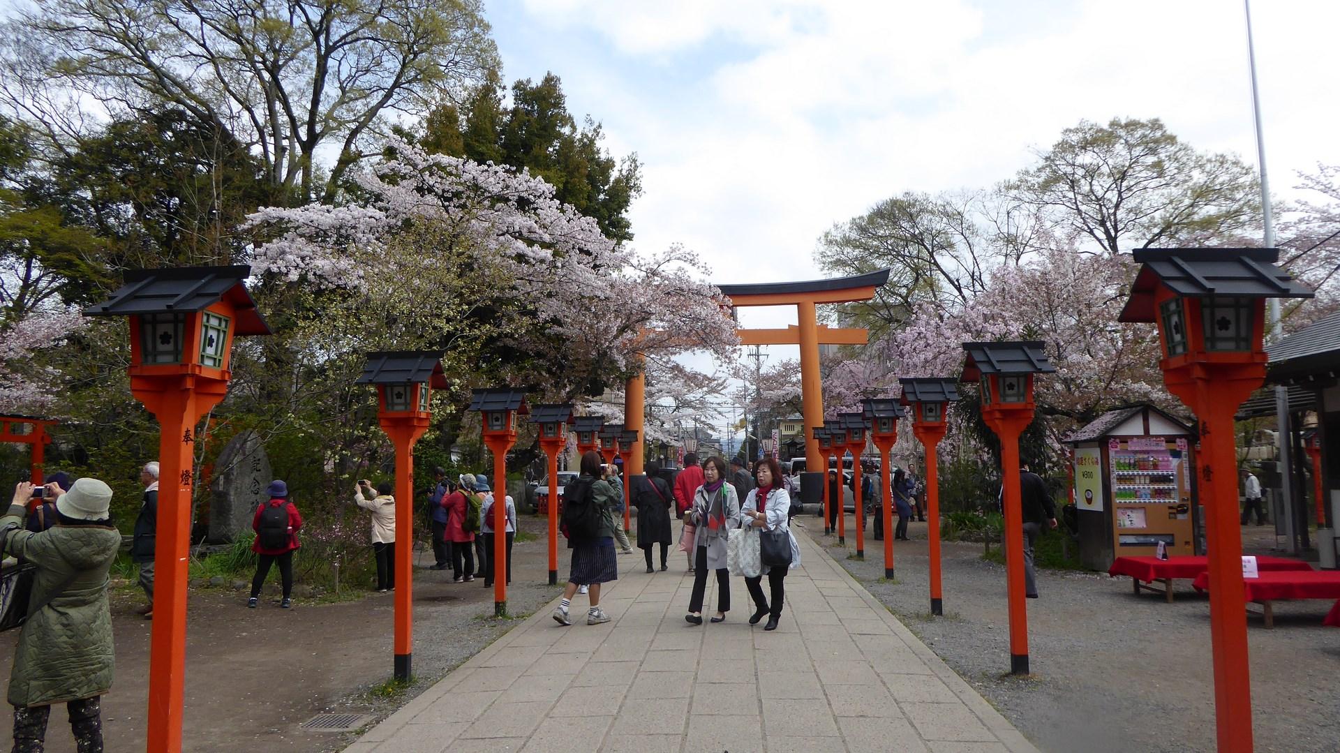 Sanctuaire Kitano Tenmangu