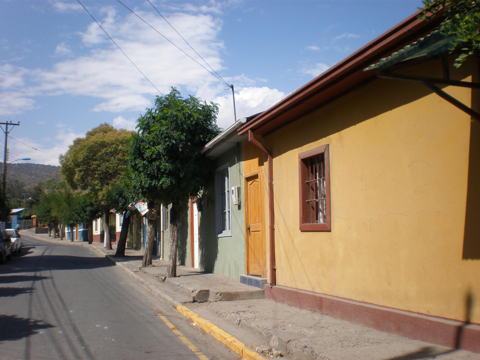 Maisons colorées de Coya