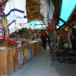 Marché artisanal mapuche