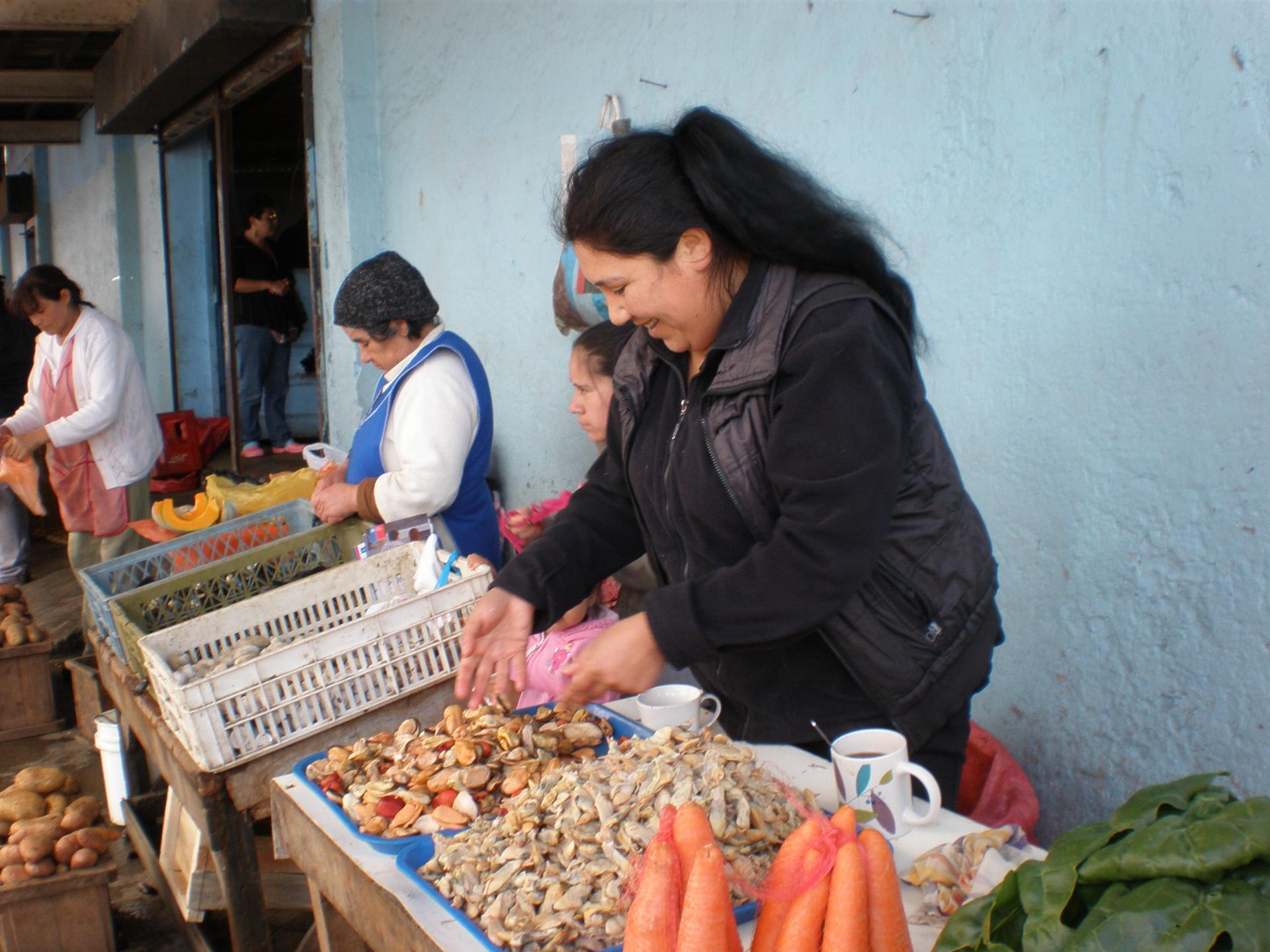 Fruits de mer à Calbuco