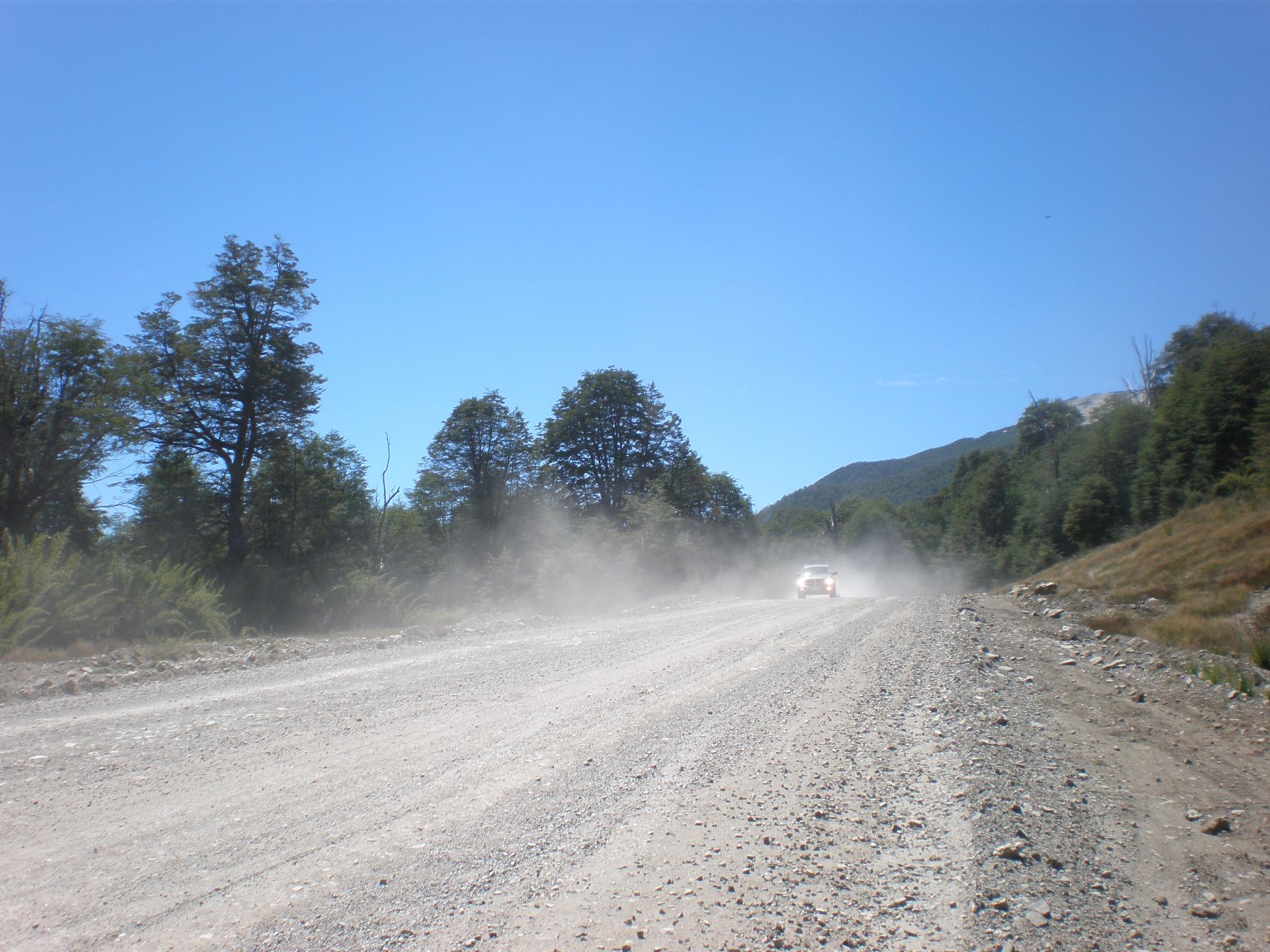 Ruta 231 Piste de ripio