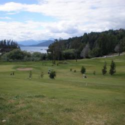 Vue depuis le golf de Bariloche