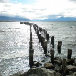 Puerto Natales : l'ancienne jetée