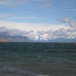 Gros temps sur le fjord