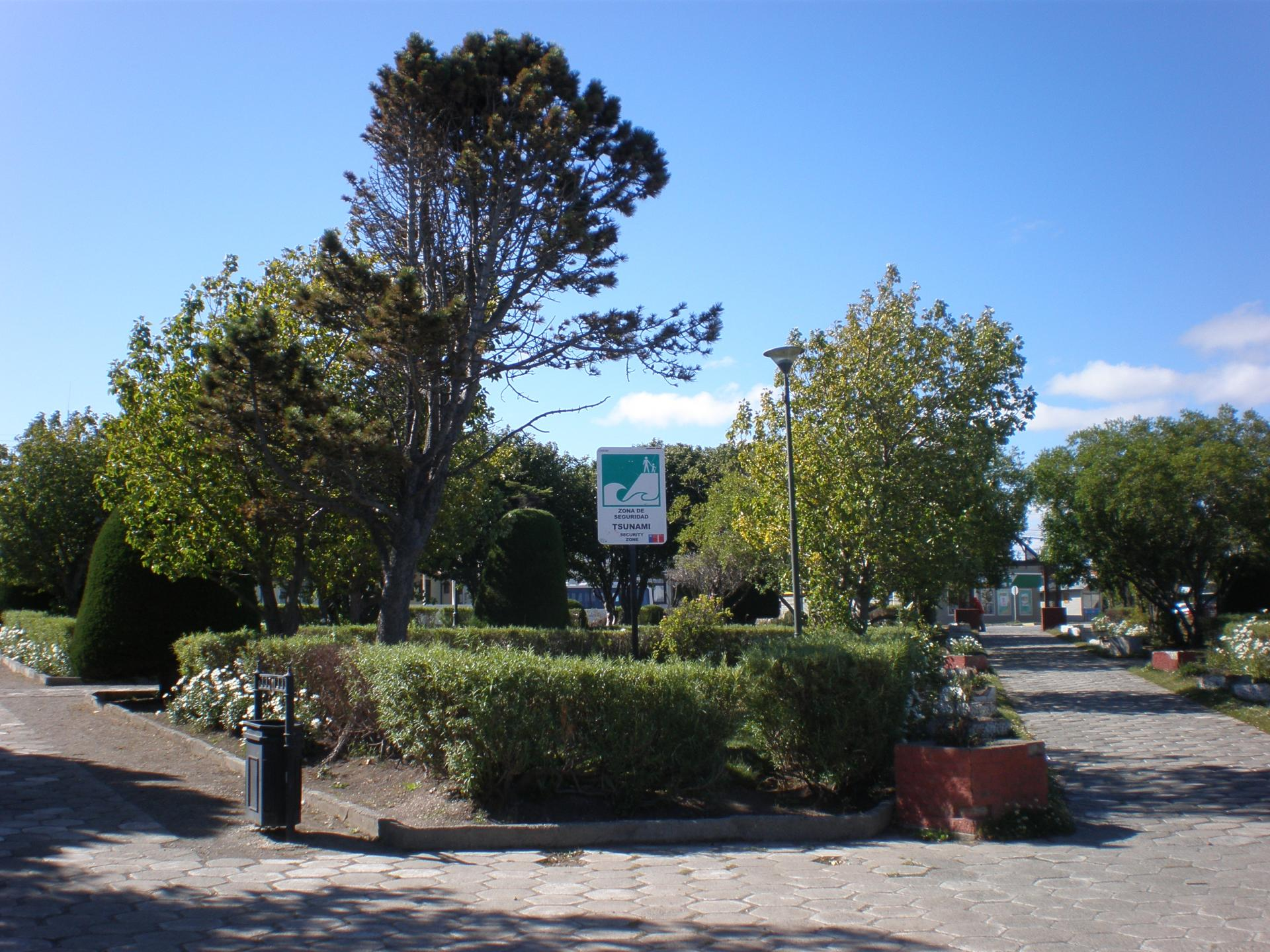 Plaza de Armas Porvenir